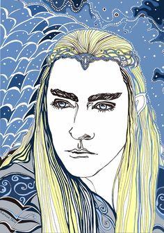 #Thranduil, the Elven King #LeePace #TheHobbit #BOFA #OneLastTime