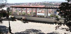 Lisboa, Esplanada do Miradouro do Monte Agudo (Penha de França)