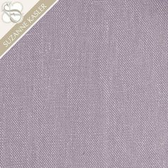 Suzanne Kasler Signature 13oz Linen Lavender Fabric By The Yard
