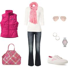 """""""Pretty in Pink"""" by archimedes16 on Polyvore....pinned only for the bag:)"""