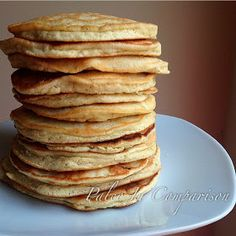 Paleo In Comparison: Laura's Paleo Hotcakes - looks like a nice balance of flours.