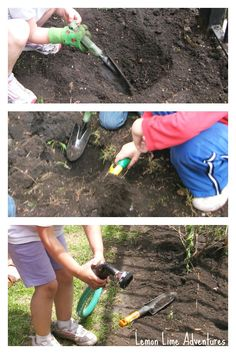 Growing a Preschool Garden: Learning Activities