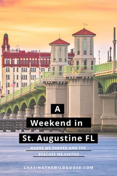 We drove through St. Augustine during our Florida road trip in the winter time. Learn if St. Augustine is vanlife friendly, the best free overnight parking spots by the beach, and dog-friendly beaches to visit. Visit Florida, Florida Beaches, Sandy Beaches, Beach Town, Beach Walk, Saint Augustine Beach, The Wild Geese, Parking Spots, Stealth Camping
