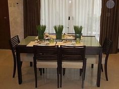 Dining room idea for small space