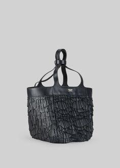 GIORGIO ARMANI TOTE BAG IN NAPA LEATHER Shopper Woman d Napa Leather 93c7103edb10b