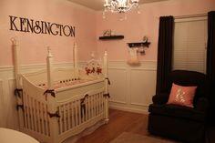 Kensingtons Brown & Pink Nursery