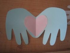 Free Printable Templates - Hand Heart Cards/Butterfly/Mermaid/Box/Flower Pieces/Paper Wall Sculpture/Scalloped Envelope