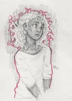 by burdge:  was feeling pretty uninspired in drawing class yesterday, so i doodled a Hazel