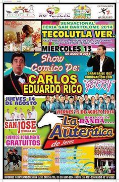 Programa Feria Tecolutla 2014