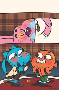 Fan art for the Amazing World of Gumball by Nic ter Horst