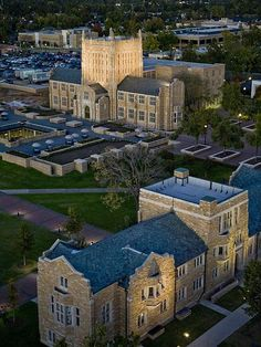 University of Tulsa....Mcfarlin and Tyrell Buildings