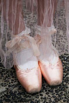 Pretty Pink Ballet Slippers