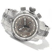 Invicta Reserve Mid-Size Venom Swiss Made Quartz Chronograph Stainless Steel Bracelet Watch ShopNBC.com