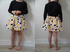 Crash Test du tuto photos gratuit pour réaliser la jupe Poulette. Blog LaisseLuciefer.