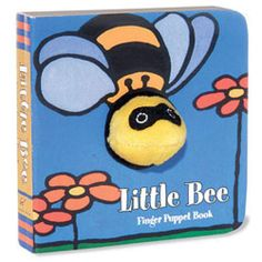 Little Bee: Finger Puppet Book - http://www.247babygifts.net/little-bee-finger-puppet-book/