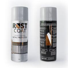 MMP Rust Coat Packaging Design #packaging #design #exposurecreative #agency #graphic #rustcoat #mmp