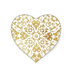 Vintage Inspired Pretty Gold White Lace Pattern  Such a pretty vintage inspired pattern in gold and white a luxury lace look. Great for all sorts of projects like cup cake toppers, wedding favor labels, table decorations etc