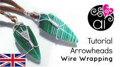 How to wrap Arrowheads (or other similar shapes) ~ Wire Jewelry Tutorials