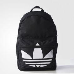 b341536d9 adidas BACKPACK CLASSIC TREFOIL - Black | adidas Australia  #womensfashionbackpacksaustralia Bolsa Adidas, Bolsa Tumblr