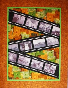 What an interesting way to do a photo quilt! by Patti Linder