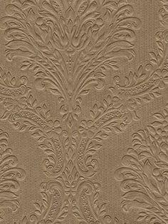 Brewster Green Damask Texture Wallpaper By
