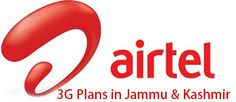 Airtel 3G Plans in Jammu and Kashmir for Prepaid subscribers