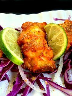 Amritsari Fish (Indian Style Battered Fish).