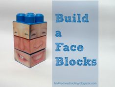 Education with Lego: H is for Homeschooling: Build a Face Blocks Toddler Preschool, Learning Activities, Preschool Activities, Feelings Preschool, Feelings Activities, Early Learning, Kids Learning, Legos, Block Center