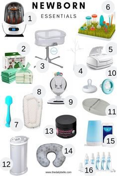 Newborn Products You Will Actually Use - The Daily Belle - NEWBORN ESSENTIALS- My favorite baby products for newborns La mejor imagen sobre healthy meal prep - Fuchs Baby, Bebe Love, Baby Life Hacks, Baby Registry Items, Baby Registry Checklist, Baby Registry Essentials, Diaper Bag Essentials, Baby Registry Must Haves, Hospital Bag Checklist