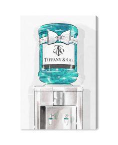 Tiffany And Co, Tiffany Blue, Tiffany Art, Tiffany Jewelry, Oliver Gal, Thing 1, Blush, Fashion Wall Art, Canvas Art Prints