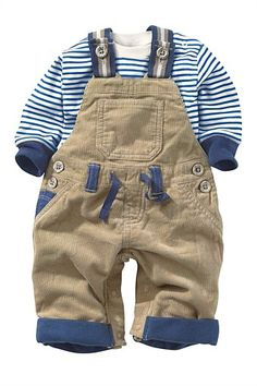 Newborn Clothing - Baby Clothes and Infantwear - Next Cord Dungarees