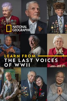Hear from some of the last survivors of WWII, sharing their stories in their own words.  75 years after the end of WWII, we hear from those who lived it. Soldiers and survivors, code breakers and medics, Rosies and pilots, these are stories from humans on both sides of the war.   Read stories of WWII from those who lived it. American Veterans, American Civil War, Halsey Singer, History Education, Interesting Reads, Vietnam Veterans, History Facts, Military History, Pilots