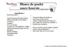 Poulet blanc sauce boursin