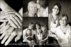 Four Generation Portraits | Taylor Made Portrait Studio