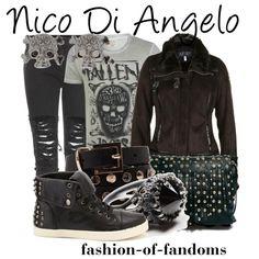 """Nico Di Angelo"" by fofandoms on Polyvore"