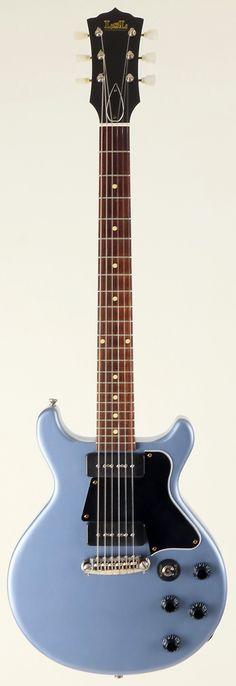 LsL Topanga 'Miri' Pelham Blue | Reverb Almost identical to a Gibson Les Paul Double Cut.
