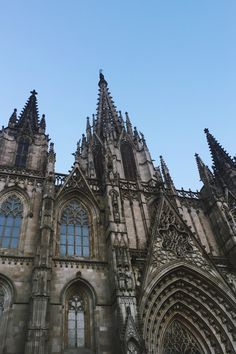 Ansku W Barcelona Cathedral, Make It Simple, Photo And Video, World, Travel, The World, Viajes, Traveling, Tourism