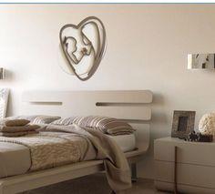 Capezzale letto moderno Mazzola luce