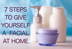 """""""How to Give Yourself a Great Facial at Home"""" from The Acne Whisperer Blog. The best way to maintain the results of your facials is with regular care at home. With the right products, you can achieve fabulous skin with this weekly regimen. #AdultAcne #skincare"""