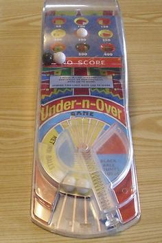Schylling Under and Over Game - Reproduction Tin Toy - Pinball