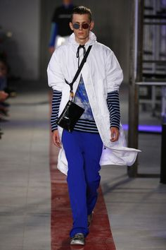 MSGM | Menswear - Spring 2017 | Look 26
