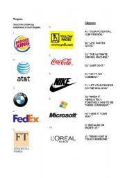 Worksheets Advertising Slogans Worksheet advertising slogans worksheet sharebrowse english famous logos and summer camp