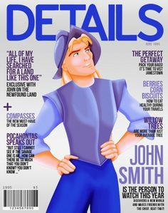 Fair and Balanced: Disney Prince Magazine Covers