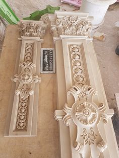 Леплина New Ceiling Design, Bedroom False Ceiling Design, Decorative Plaster, Plaster Art, Wood Carving Designs, Wood Carving Art, Stucco Interior Walls, Styrofoam Art, Compound Wall Design