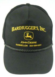 901d071193554 John Deere Barehugger s Inc Florida Mesh Trucker Snapback Cap Hat   JohnDeere Vintage Man