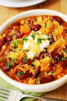 Butternut Squash and Bean Chili | Flickr - Photo Sharing!