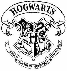 Nice Hogwarts, Colegio De Magia Y Hechizería. Logo.