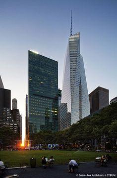 21. Bank of America Tower, New York City (366 m)