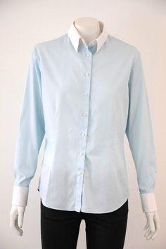 Rhodes & Beckett  Women s Striped Long Sleeve Button Down Shirt {Size 12}
