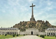 The Valley of the Fallen, Spain.  To honor those who fell during the Spanish Civil War. Visited in 2005.